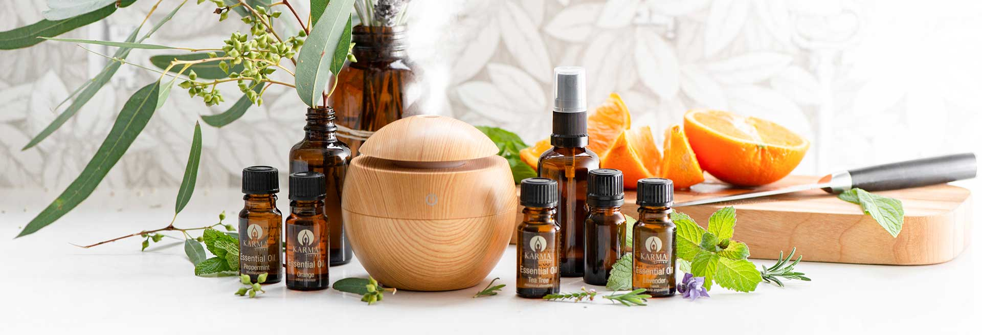 Aromatherapy, Gemstones, Diffusers, Lamps & More