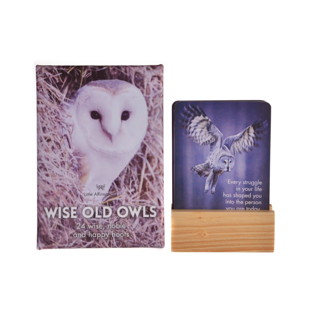 Cards Wise Owls Pack 25