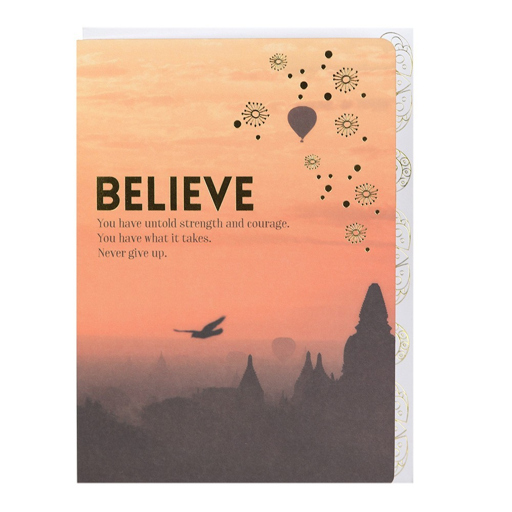 Card - Believe