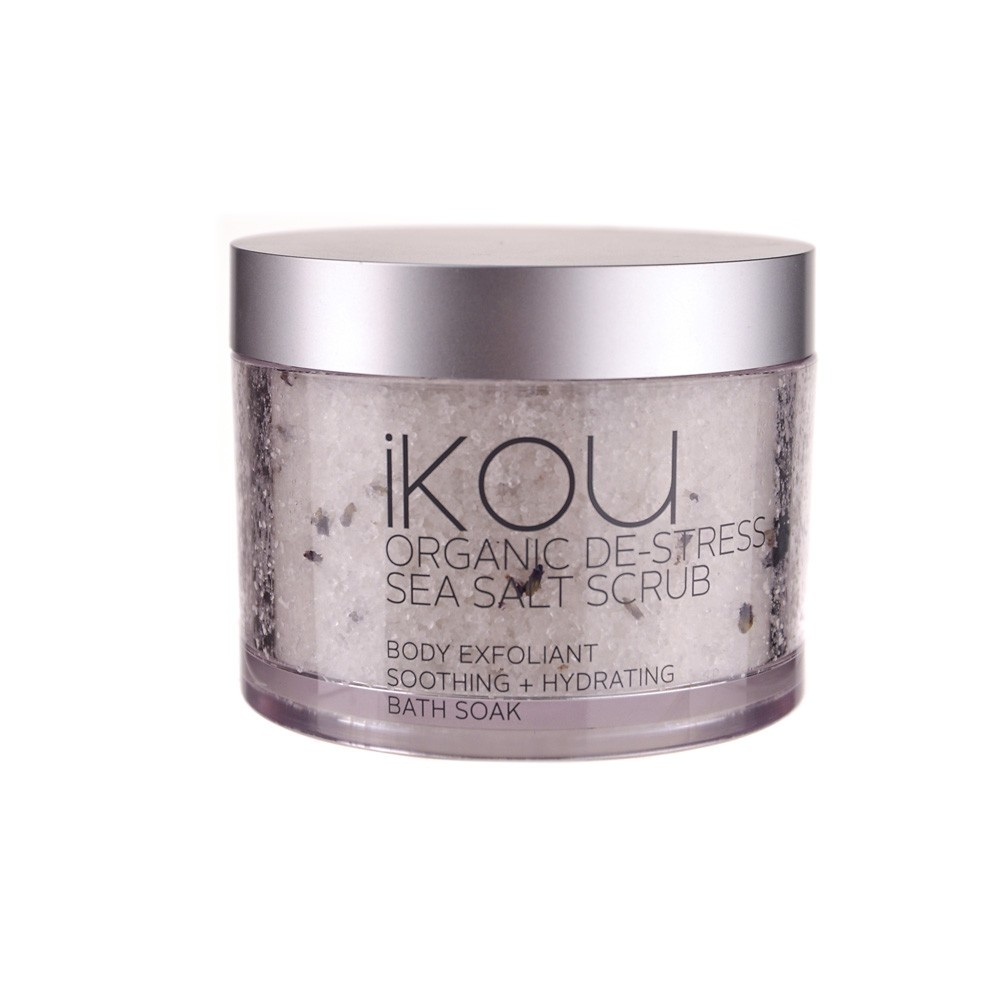 BODY SCRUB De-Stress Sea Salt Organic