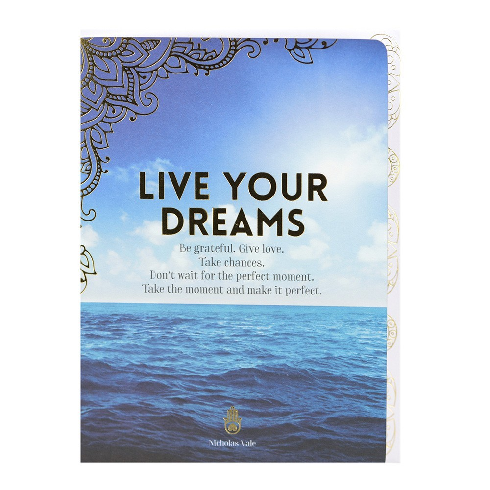 Card - Live your Dreams