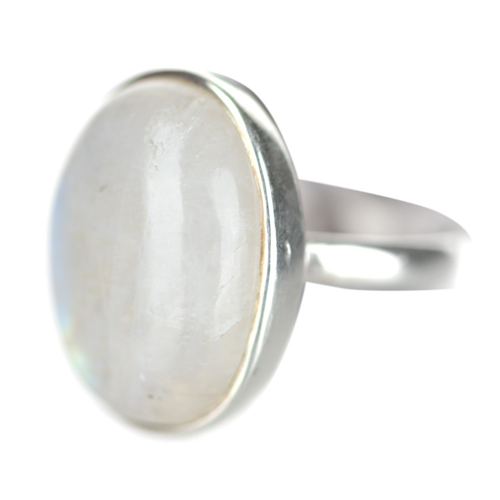 RING Oval Moonstone