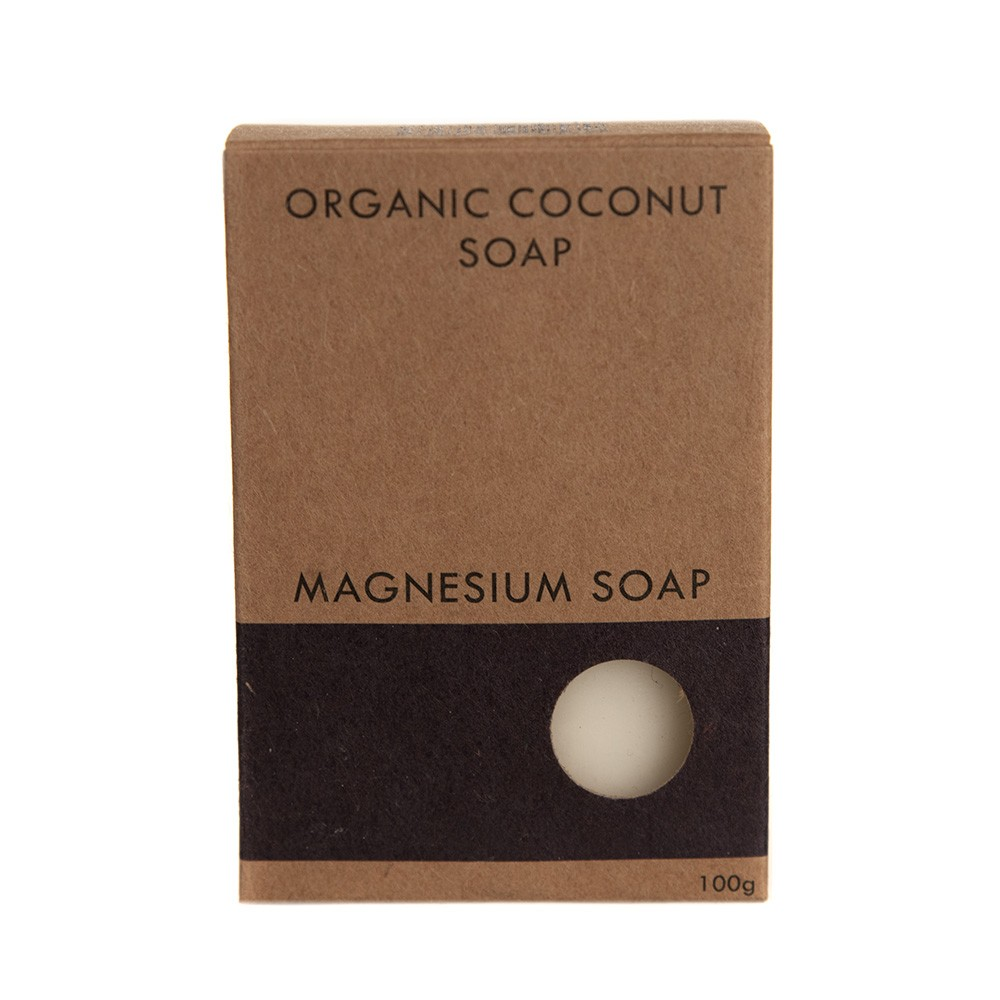 Magnesium Coconut Soap boxed 100g