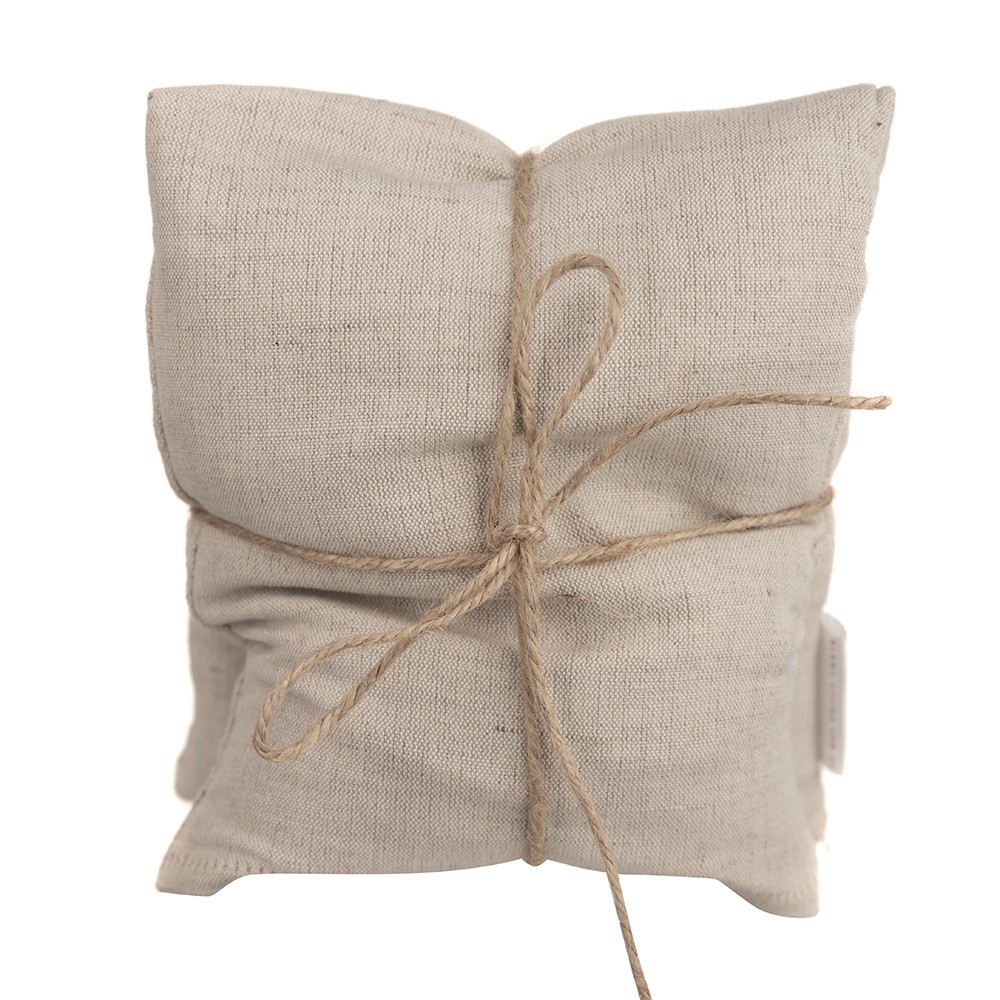 HEAT PILLOW Cotton Natural 40x15cm
