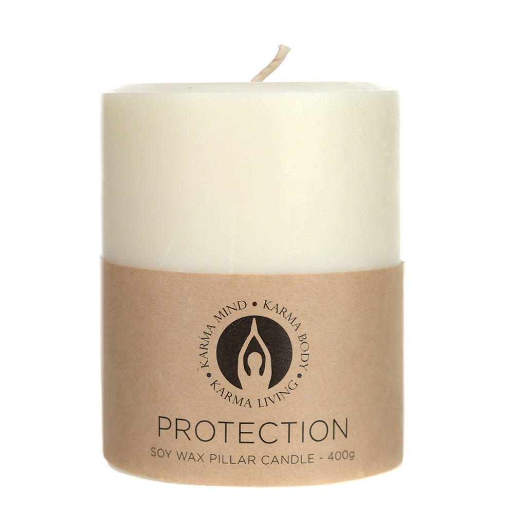 PILLAR CANDLE Soy Protection Small 400g