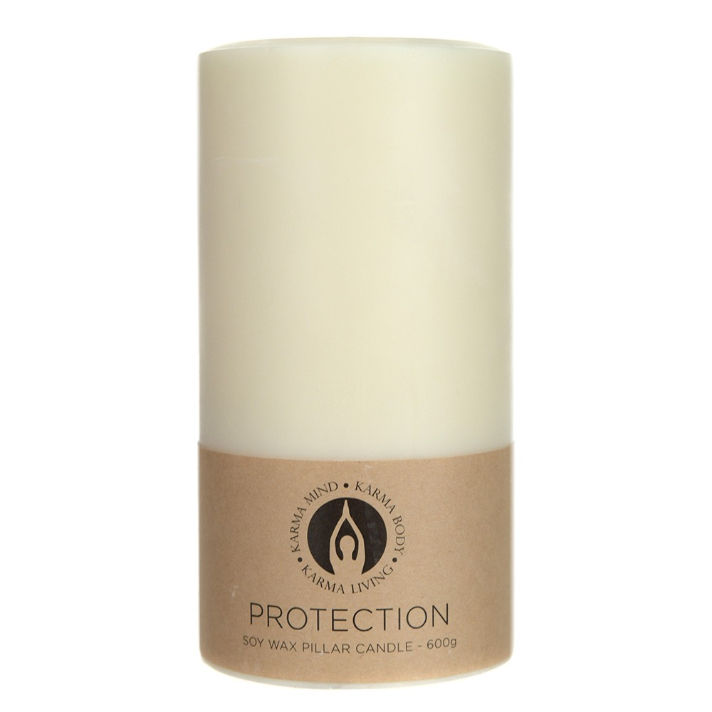 PILLAR CANDLE Soy Protection Large 600g