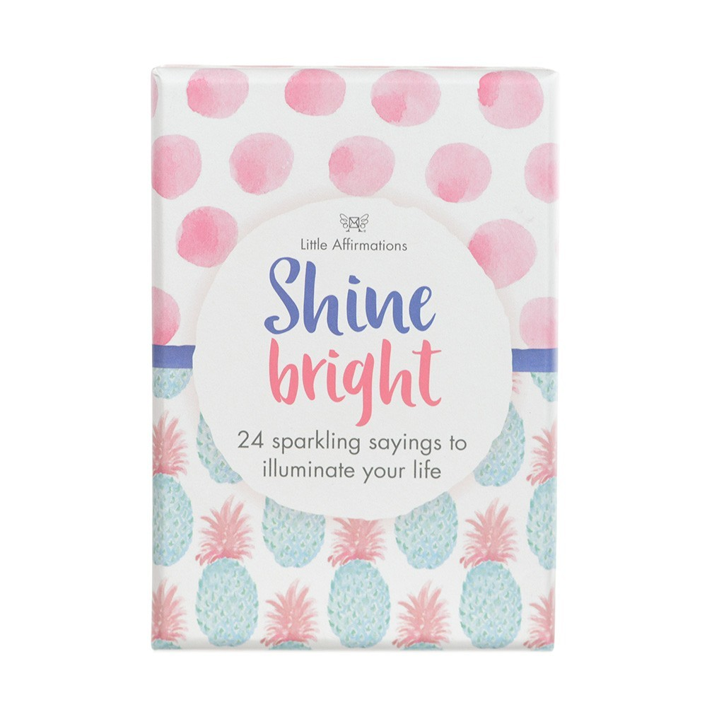 Shine Bright Affirmation Cards
