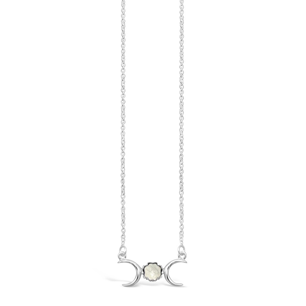 NECKLACE Goddess Moonstone