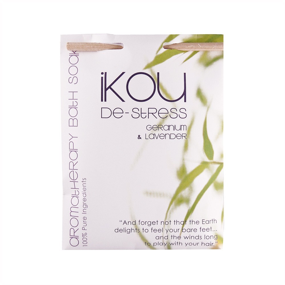 iKOU De-Stress Bath Salts 125g