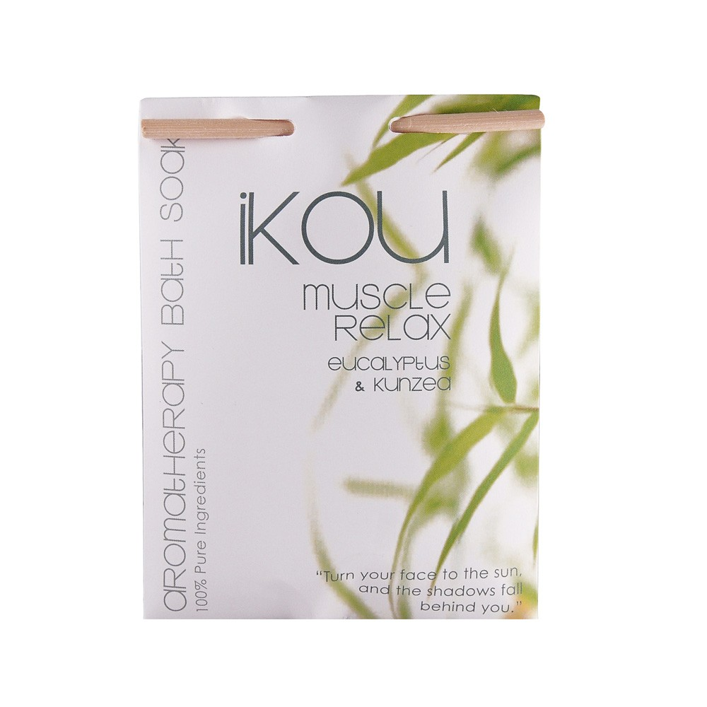 iKOU Muscle Relax Bath Salts 125g