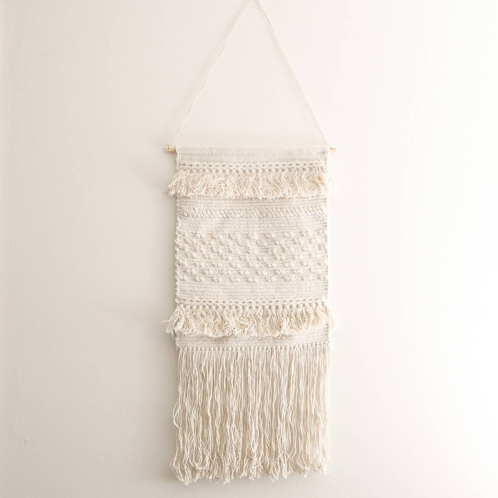 WALL HANGING Natural Weave 40x80cm
