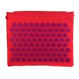 ACUPRESSURE MINI MAT Pink with Purple Spike 45x38cm