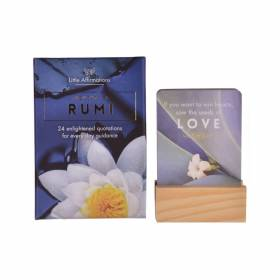 Affirmation Cards Rumi  Pack 24