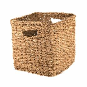 BASKET Hogla Square Cut out Handle 28x26cm
