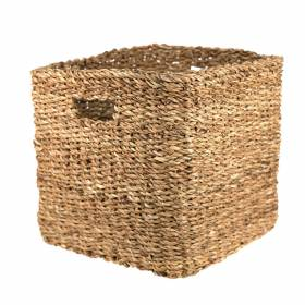 BASKET Hogla Square Cut out Handle 32x28cm