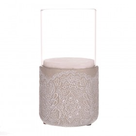 HURRICANE Glass W Cement Base Lace 20cm