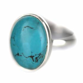 RING Oval Turquoise