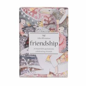 Friendship card set pkt 25