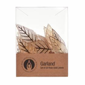 GARLAND Leaf Rose Gold 20piece