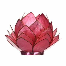 CABBAGE Capiz Tealight Holder Pink