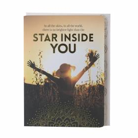 GREETING CARD Star Inside You