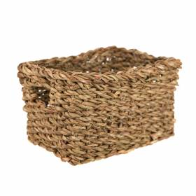 BASKET Hogla Rectangle Natural 23x17x12cm