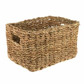 BASKET Hogla Rectangle Natural 29x21x16cm