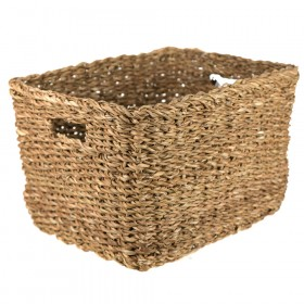 BASKET Hogla Rectangle Natural 37x30x24cm