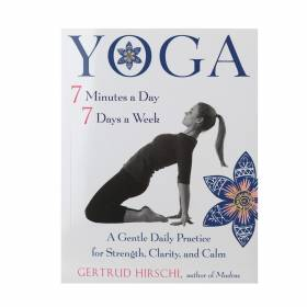 BOOK Yoga 7 Minutes A Day, 7 Days A Week - Gertrud Hirsch
