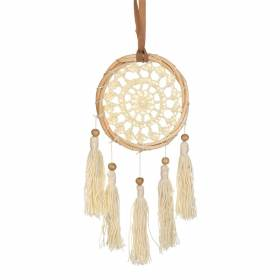 DREAM CATCHER Mini Rattan Crochet with Tassels