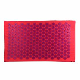 ACUPRESSURE MAT Pink with Purple Spike 78x45cm