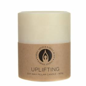 PILLAR CANDLE Soy Uplifting Small 400g