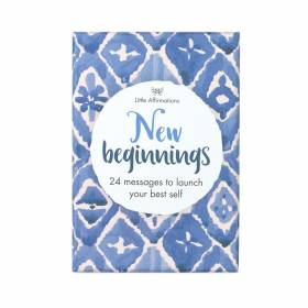 AFFIRMATION CARDS New Beginnings