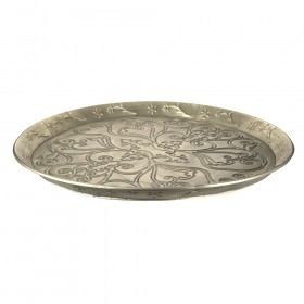 TRAY METAL Pressed 61.5cm