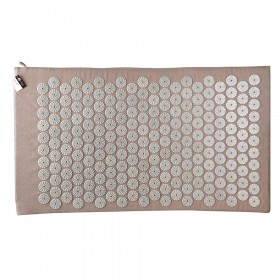 ACUPRESSURE MAT Grey with Grey Spike 78x45cm