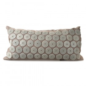 ACUPRESSURE NECK PILLOW Grey with Grey Spike 44x22cm