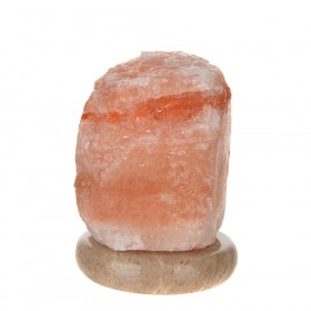 SALT LAMP Crystal Natural Marble Base USB Colour changing LED