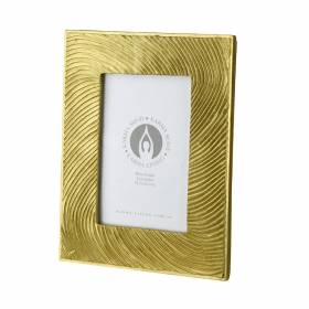 PHOTO FRAME Waves Gold 21.5x17cm