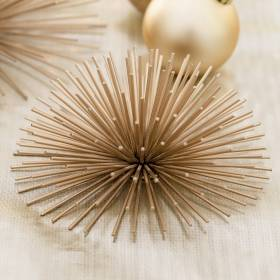 SPIKE Decoration Gold Large 20x8cm