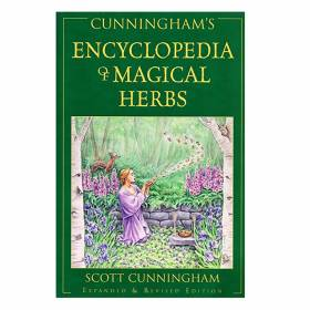 BOOK Cunningham's Encyclopedia of Magical Herbs - Scott Cunningham