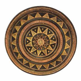 PLATE Arizona Sun Triangle Pattern 40cm