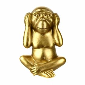 STATUE Monkey Hear No Evil 13cm