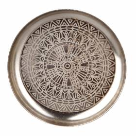 TRAY Round Nickel Mandala 13cm
