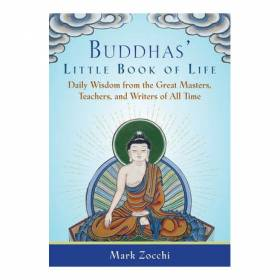 BOOK Buddha's Little Book Of Life - Mark Zocchi