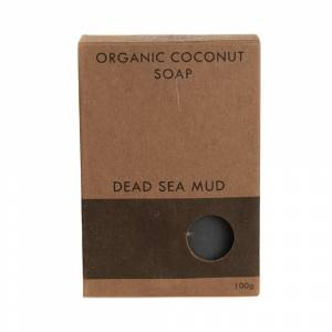 Dead Sea Mud Coconut Soap boxed 100g
