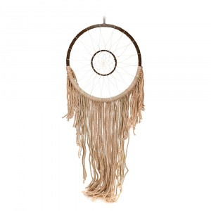 DREAM CATCHER Brown Macrame 27x98cm