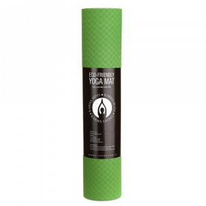 YOGA MAT Eco-Friendly Green/Grey