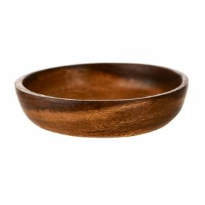 PLATE Round Acacia Wood 12.5cm
