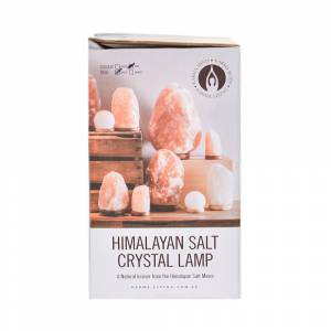 SALT LAMP Crystal Natural Wood Base 8-10kg